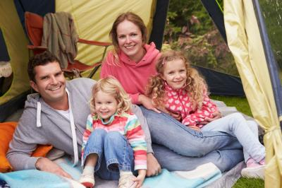 Accommodation in a holiday house